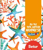 SETUR YURT İÇİ YAZ BROŞÜRÜ-2017/Akdeniz
