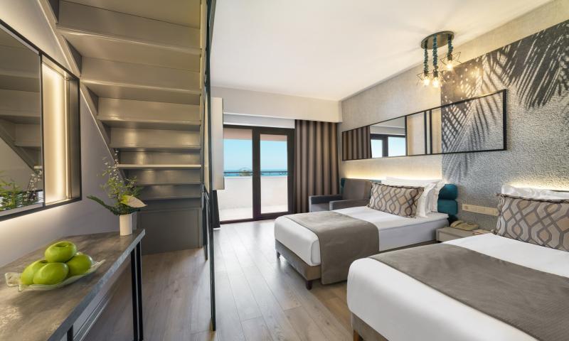 Hotel Dubleks Oda, Deniz Manzaralı