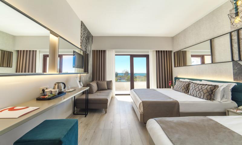Hotel Standart Oda, Deniz Manzaralı