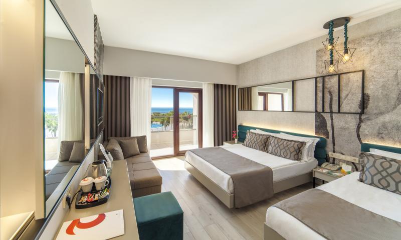 Hotel Standart Oda, Kara Manzaralı