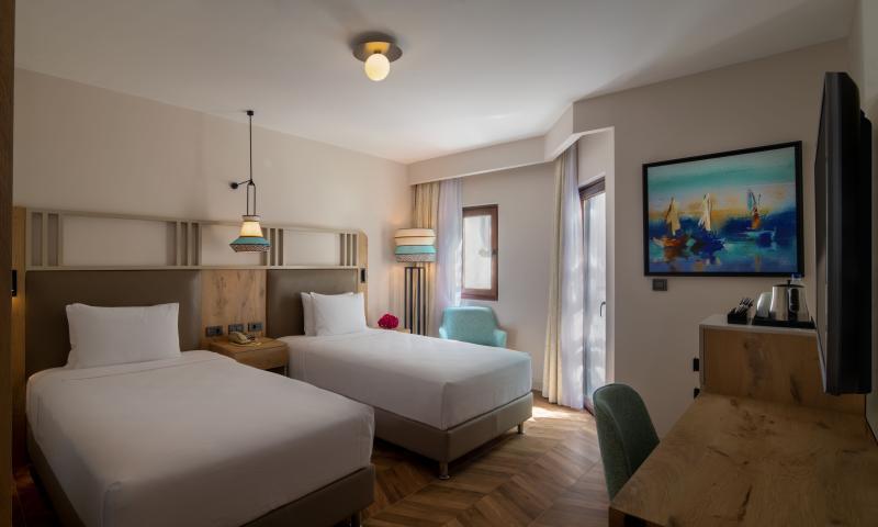 İki Yataklı Delüks Oda