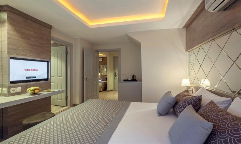 Park - Villa Aile Odası, İki Yatak Odalı