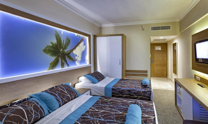 Otel Standart Oda, Kara Manzaralı