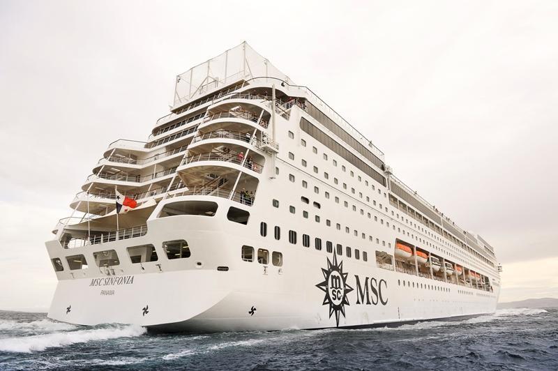 Msc Sinfonia ile Grand Voyage 23 Kasım 2019