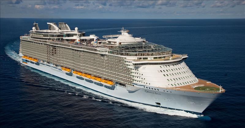 Oasis Of The Seas ile Batı Akdeniz 04,18 Ağustos 2019