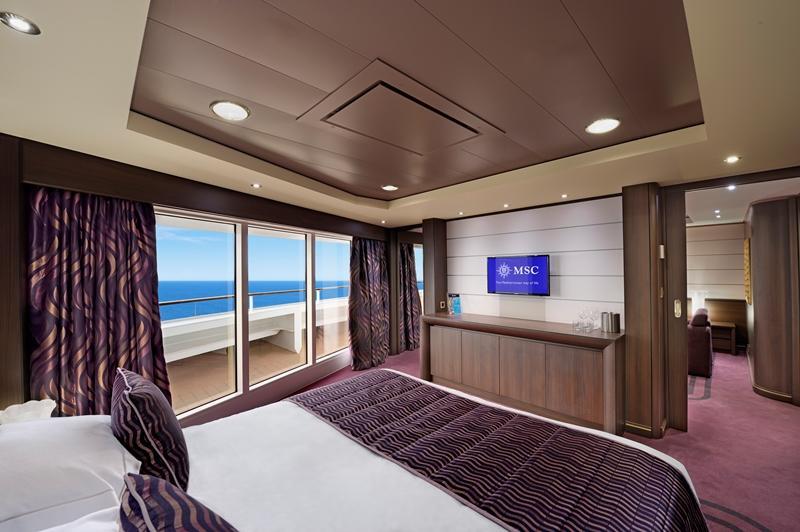 Panoramik Pencereli Suit Kabin