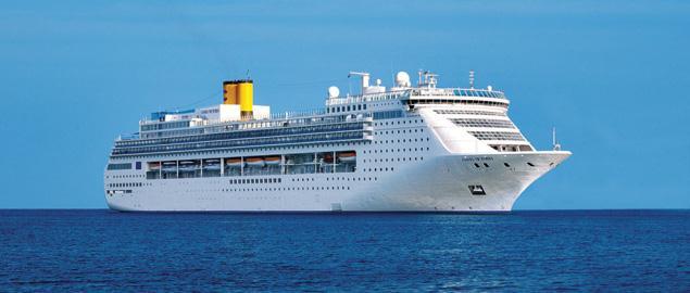 Costa Victoria ile Hindistan & Maldivler & Sri Lanka 16 Kasım 15 Gece