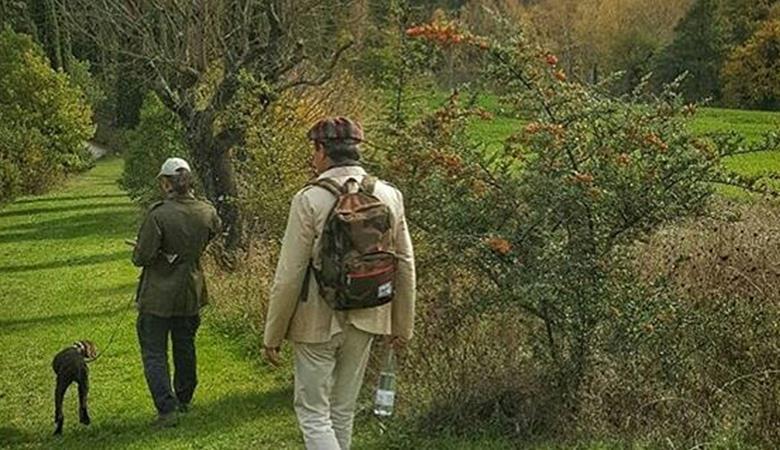 Ayhan Sicimoğlu ile Gubbioda Mantar Avı