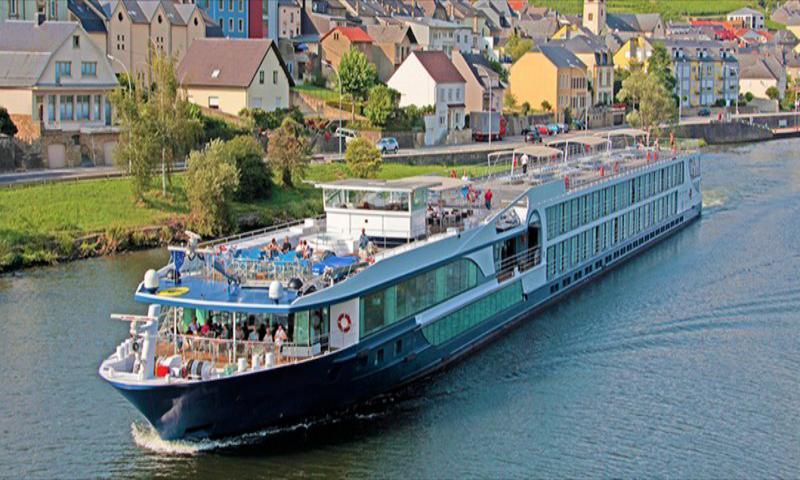 MS Leonora ile Ren & Mosel Nehri 15 Temmuz 2020