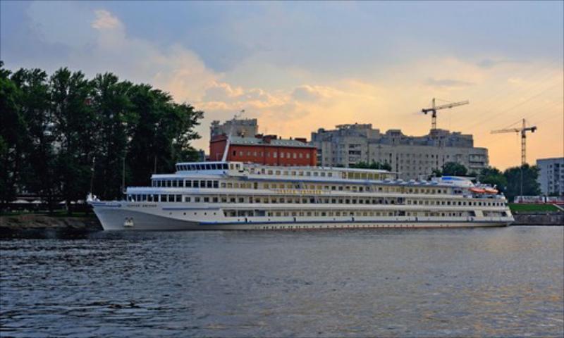 Vasiliy Kandinski Gemisi ile Don Nehrin'den Volga'ya 27 Nisan 2020