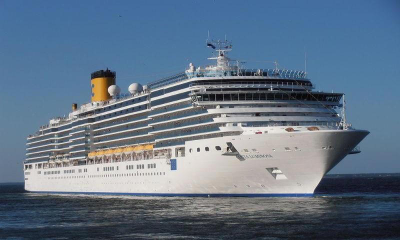 Costa Luminosa ile Adriyatik & Akdeniz & Sicilya 08 Kasım 2020