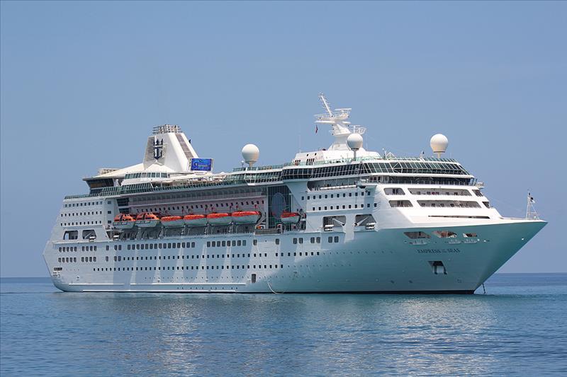 Empress of the seas ile Batı Karayipler 06 Şubat 2021