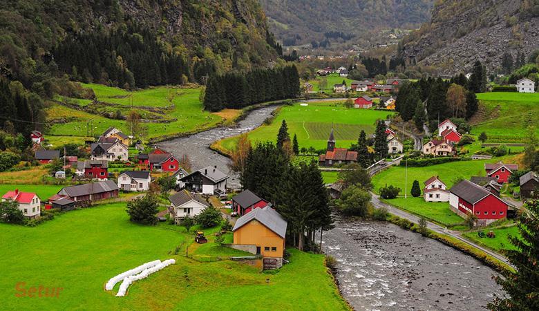 Norveç Fiyortları Turu (Geilo-Oslo-Bergen-Gudvangen-Flam-Gol)
