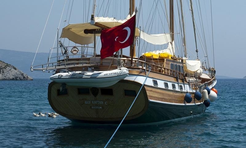 Arif Kaptan C Guleti ile 16 Kişiye (8 Kabin) Özel Bodrum - Gökova Körfezi - Bodrum Mavi Yolculuk Turu