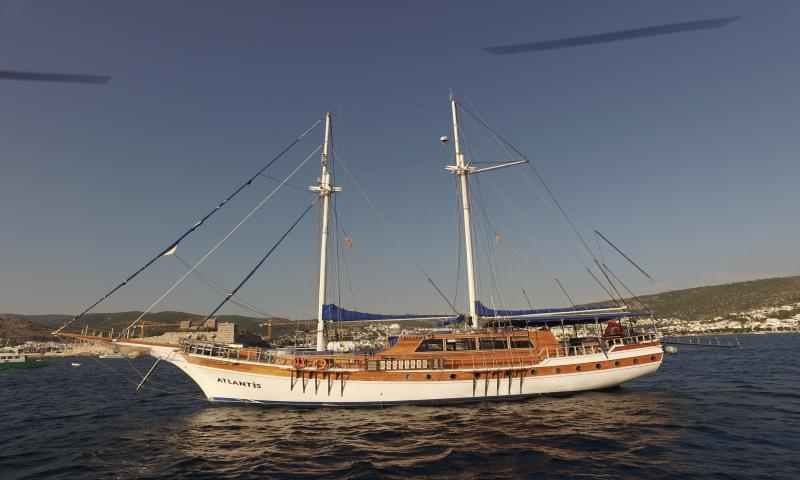Atlantis Guleti ile 20 Kişiye (10 Kabin) Özel Bodrum - Gökova Körfezi - Bodrum Mavi Yolculuk Turu