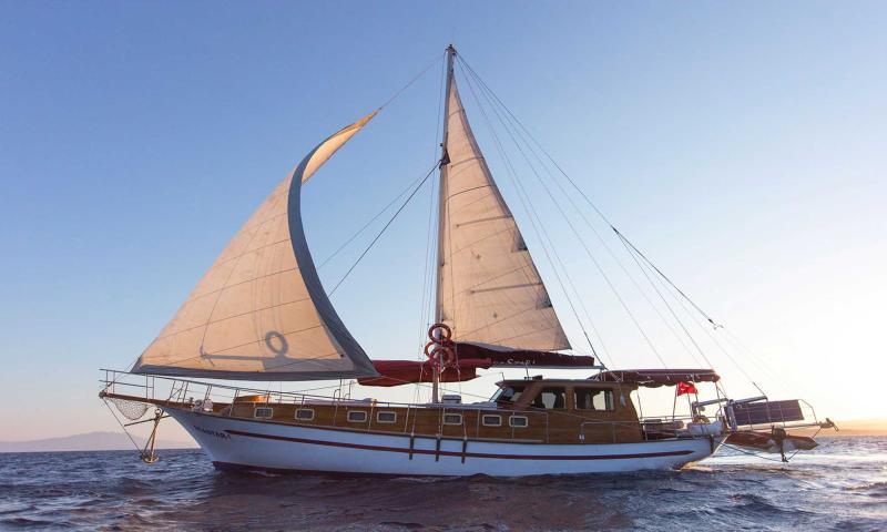 Sea Star Guleti ile 6 Kişiye (3 Kabin) Özel Bodrum - Gökova Körfezi - Bodrum Mavi Yolculuk Turu