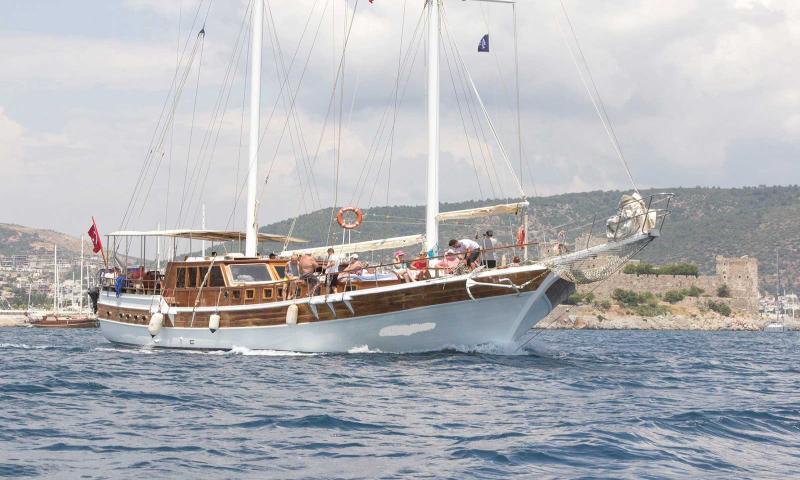 Hestia Guleti ile 20 Kişiye (10 Kabin) Özel Marmaris - Fethiye - Marmaris Mavi Yolculuk Turu