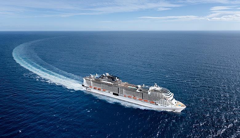 Msc Grandiosa ile Akdeniz 11,18,25 Ocak & 01 Şubat 2020