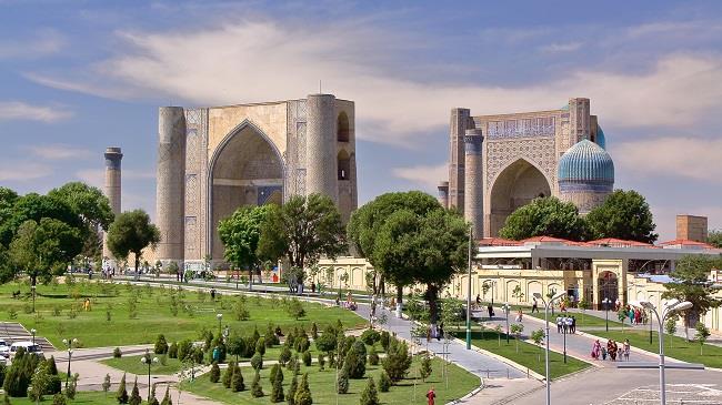 Özbekistan-Kırgızistan-Kazakistan Turu (Semerkand-Buhara-Hive-Taşkent-Bişkek-Almaata)