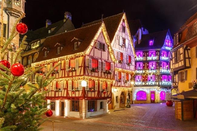 Alsace Yılbaşı Turu (Colmar & Strasbourg & Eguisheim & Riquewihr)