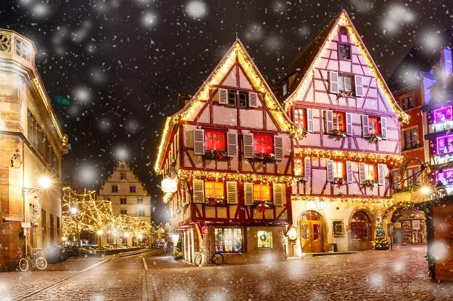 Alsace Noel Pazarları Turu