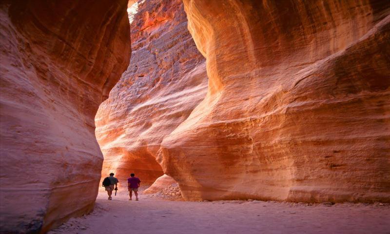 Ürdün ve Mezarlıklar Ülkesi Petra