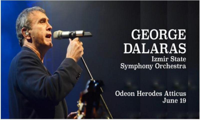 """George Dalaras Konser Turu """"Nükhet Everi Rehberliğinde"""""""