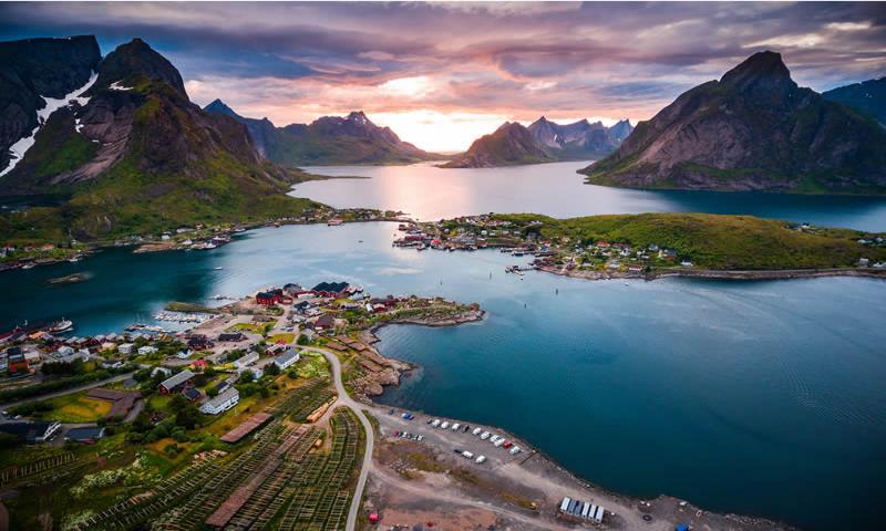 """Tromso & Lofoten Kuzey Işıkları Turu """"Burak Özberk Eşliğinde"""""""