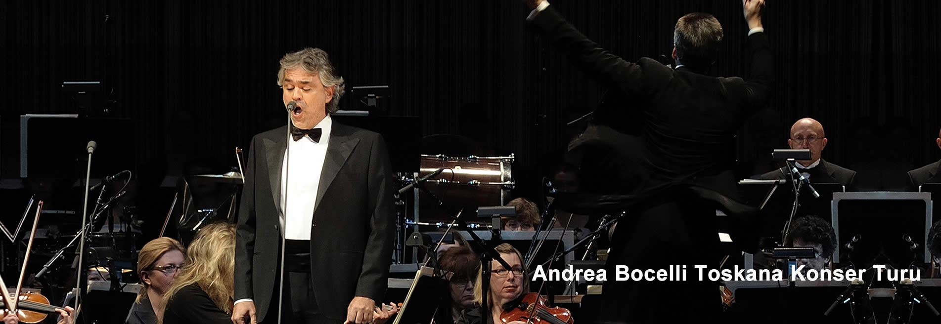Andrea Bocelli Toskana Konser Turu