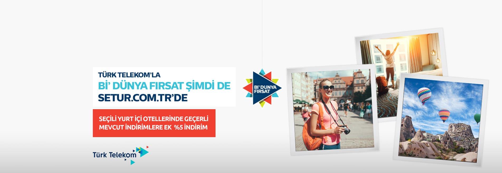 turk telekom setur kampanyasi
